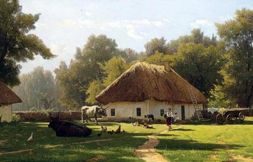 Владимир Орловский. Летний день на Украине. 1892